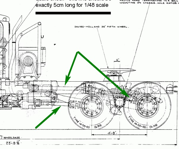 Схема карданов КрАЗ-255:
