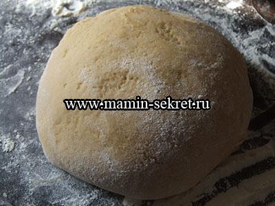 тесто для приготовления медового печенья