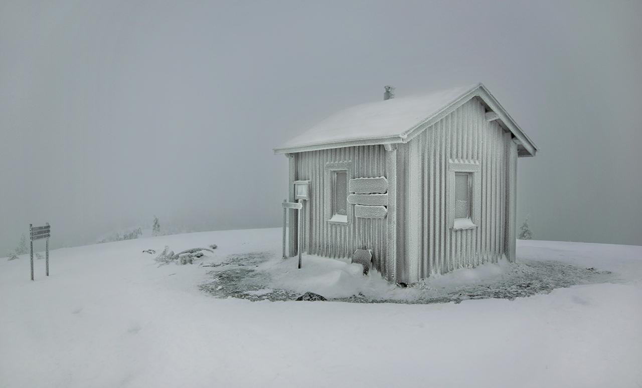 Новогодние каникулы в Руке. Финляндия.
