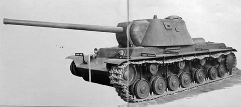 КВ-3 («Объект 223») - опытный тяжёлый танк 0b1wH