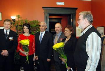 Встреча ветеранов ГСВСК с кубинской делегацией в Санкт Петербурге