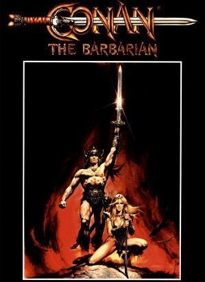 Конан Варвар 1982г. Самородный Земной Правильный фильм.