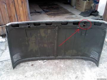 Фиксатор замка капота УАЗ 469