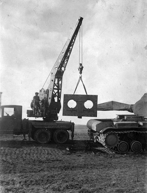 Т-220 («Объект 220», КВ-220, КВ-4) - опытный тяжёлый танк KSiqP