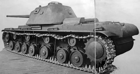 КВ-3 («Объект 223») - опытный тяжёлый танк SZa6q