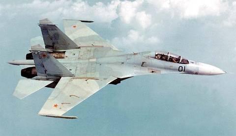 Су-27УБ (Т10У) - учебно-боевой самолёт OHQfk