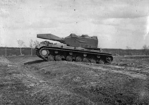 Т-220 («Объект 220», КВ-220, КВ-4) - опытный тяжёлый танк RWNS6