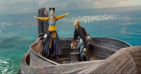 Лига богов Feng shen bang
